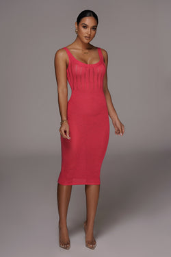 MAGENTA LULIANA SWEATER DRESS