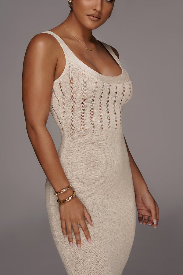 IVORY LULIANA SWEATER DRESS