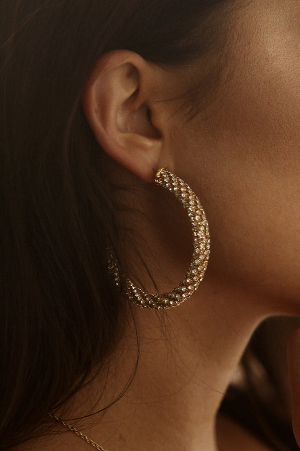 Crystal Clear Hoops