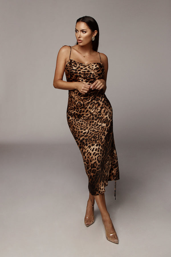 Leopard Baron Dress