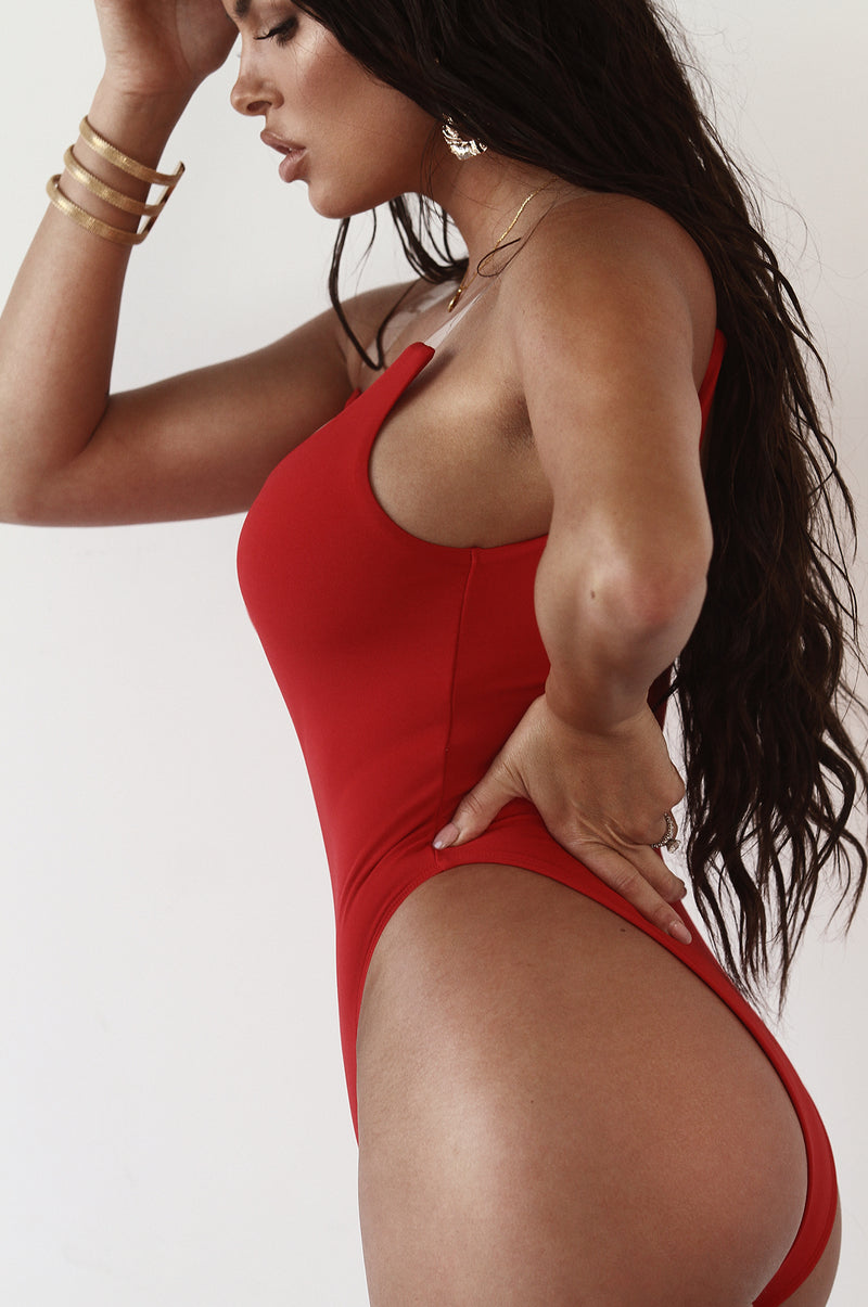 Red Bellini One Piece