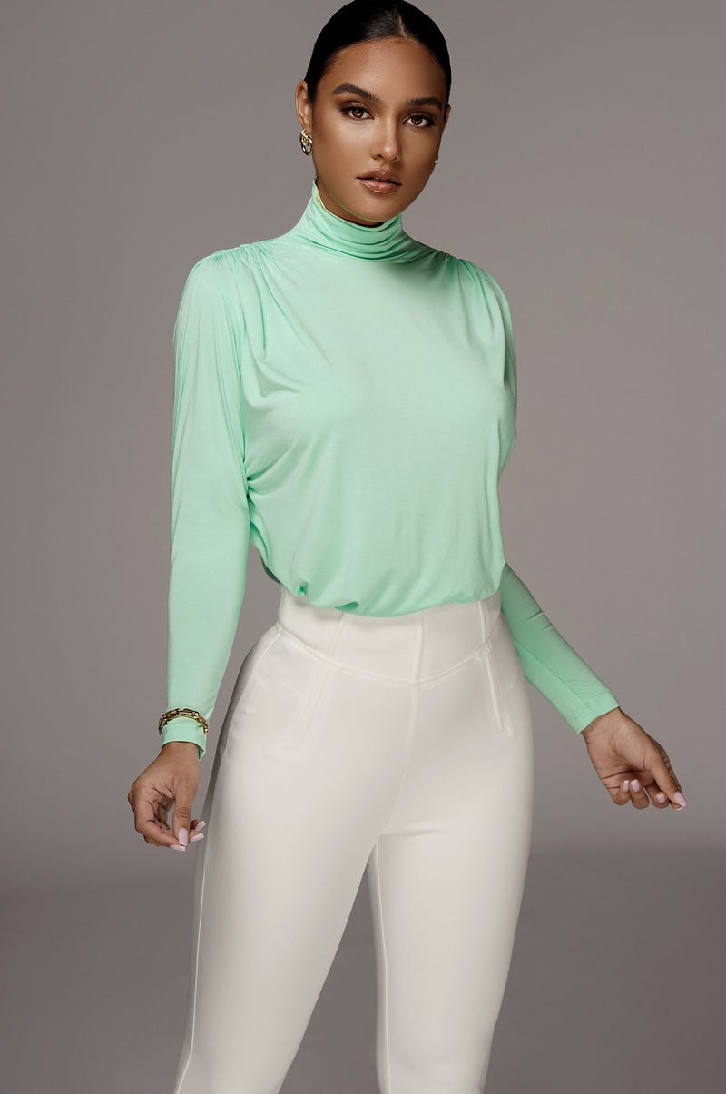 Mint Whitley Oversized Top