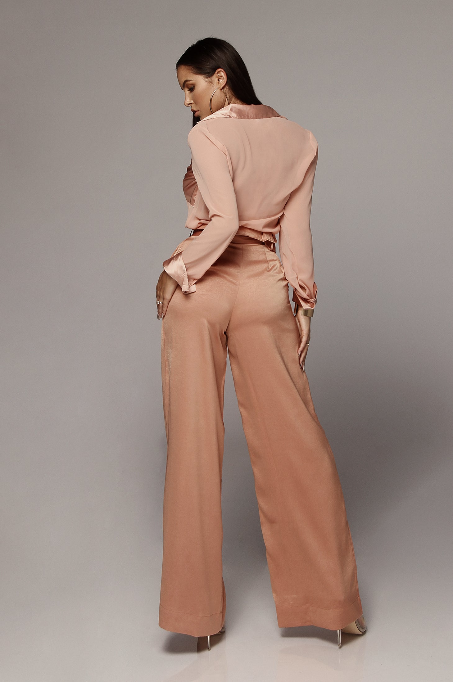 Clay Abigail Belted Trousers
