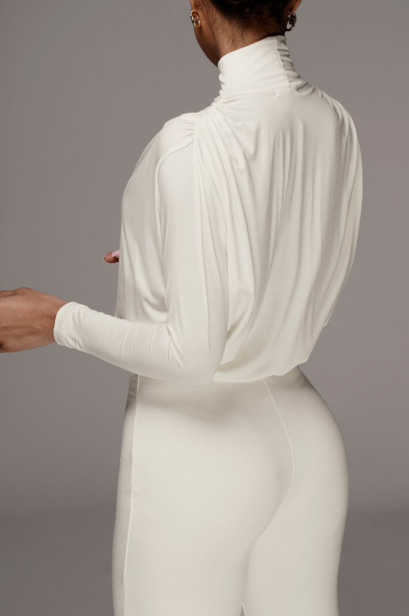 Ivory Whitley Oversized Top