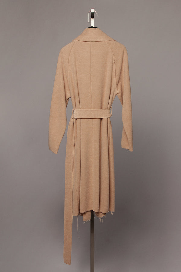 Camel Naria Dress Coat