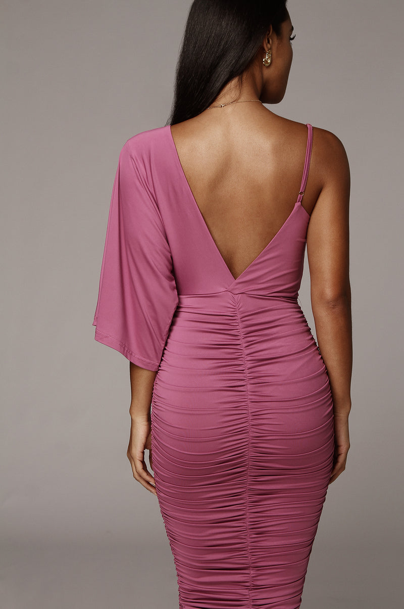 Purple So Elevated Dress
