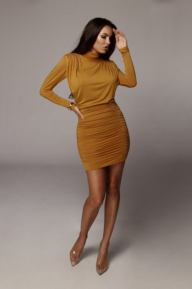 Mustard Billie Mini Dress