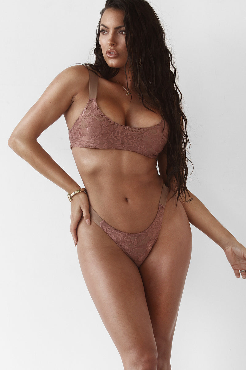 Mauve In the Detail Bikini