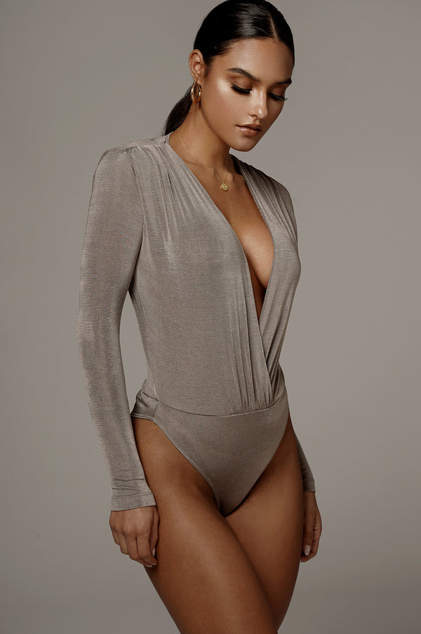 STONE POWER PLUNGING BODYSUIT