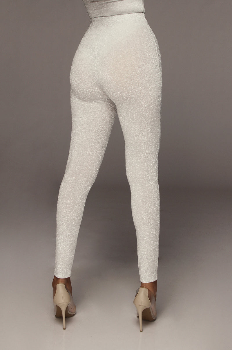 Silver Shine Bright Leggings