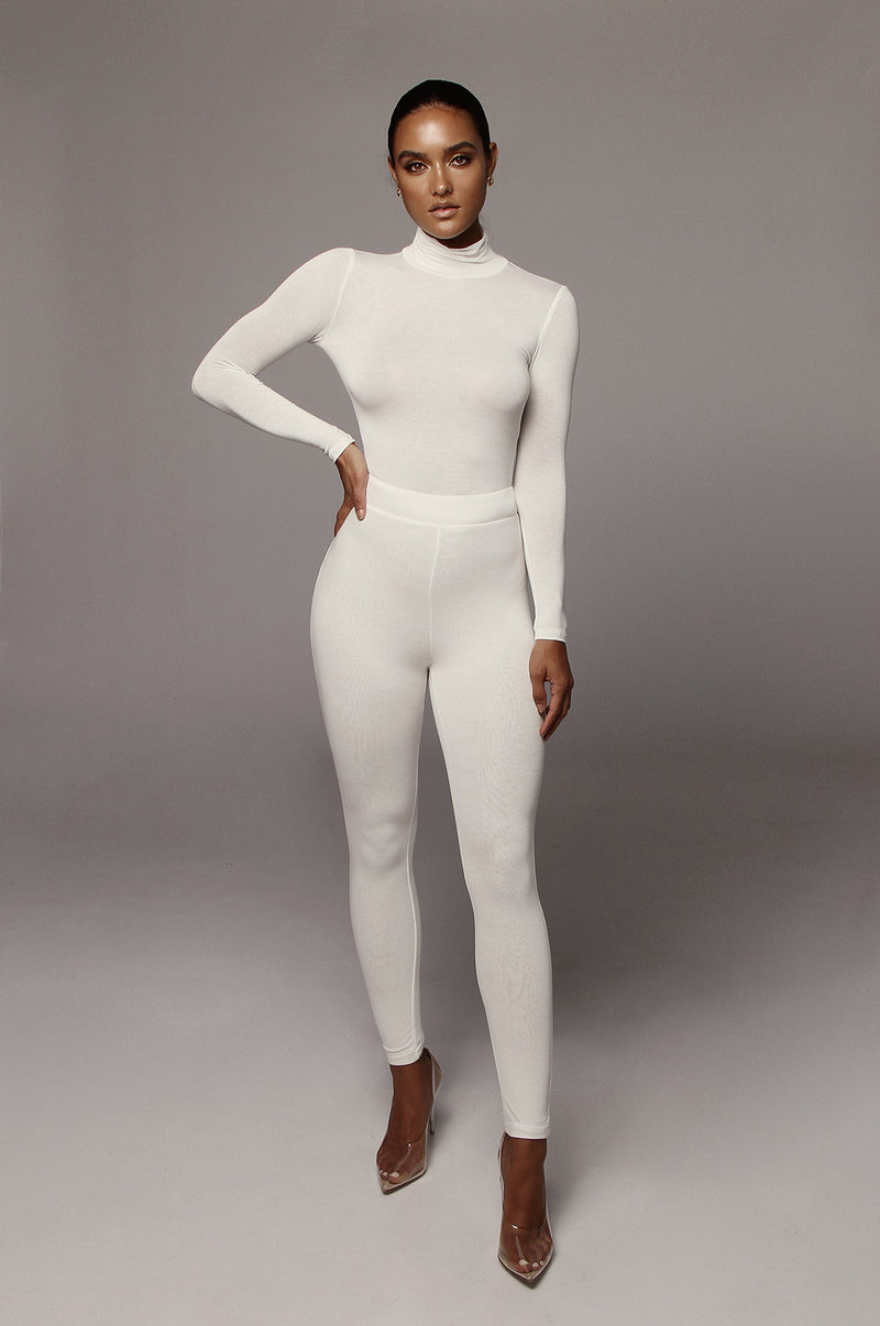 Ivory Tatum Turtleneck Top