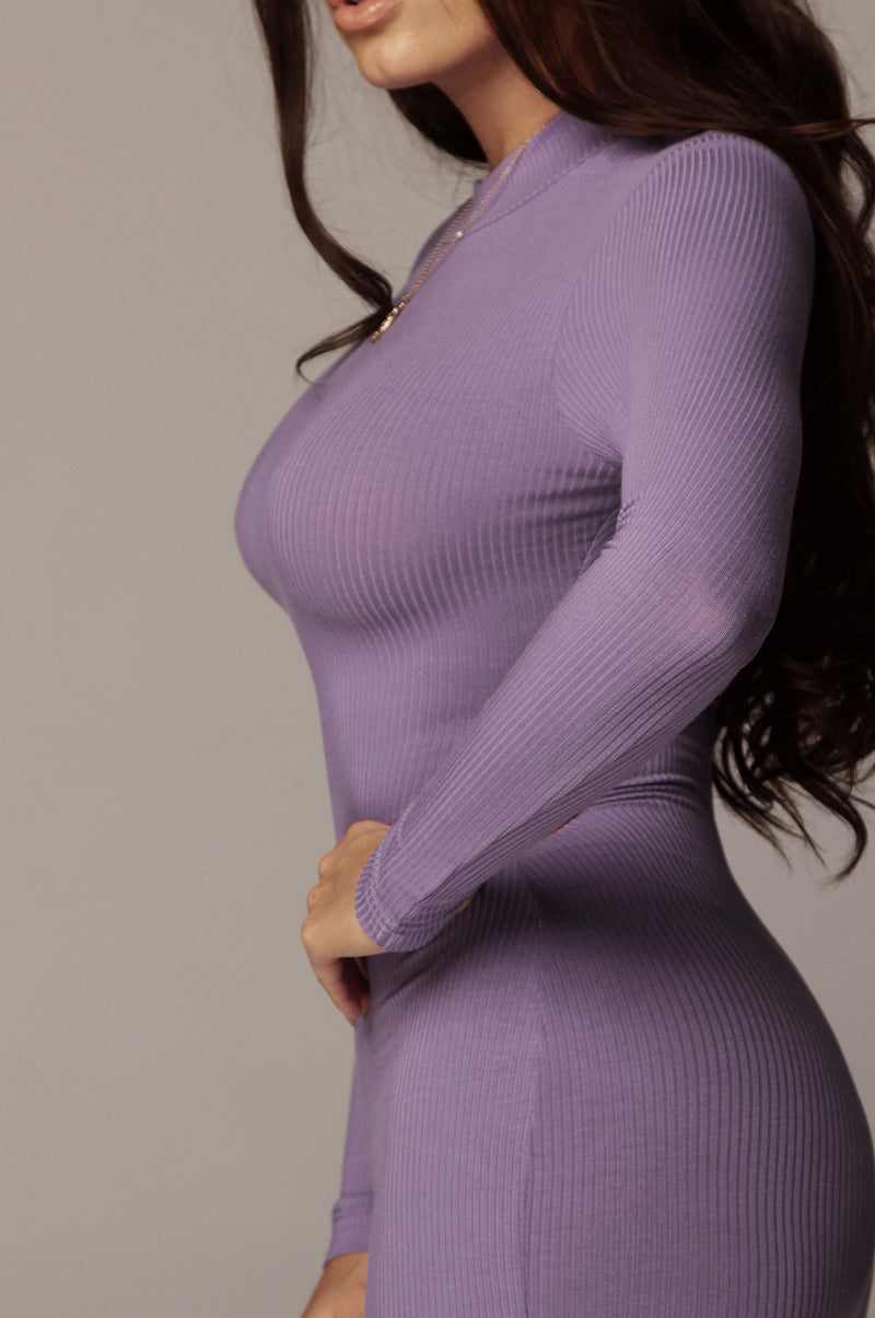 Purple Pixie Bodycon Dress