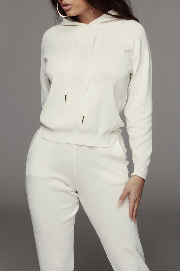 Ivory Alma Light Blend Sweater Set