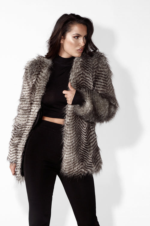 The NYE Faux Fur Coat