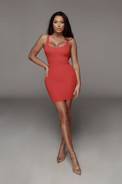 Berry Celina Ribbed Dress