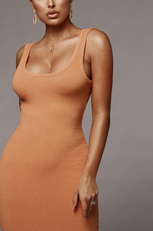 Orange Sherbet Shani Dress