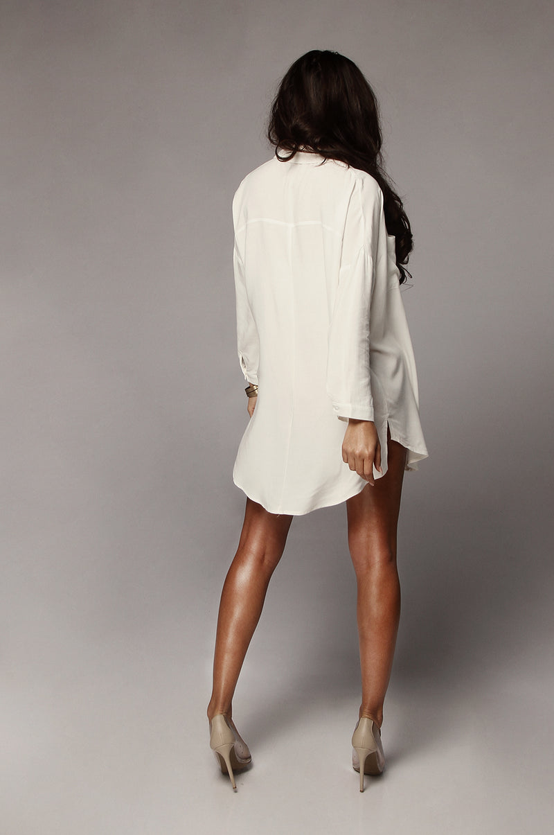 Ivory Kendall Two Pocket Tunic