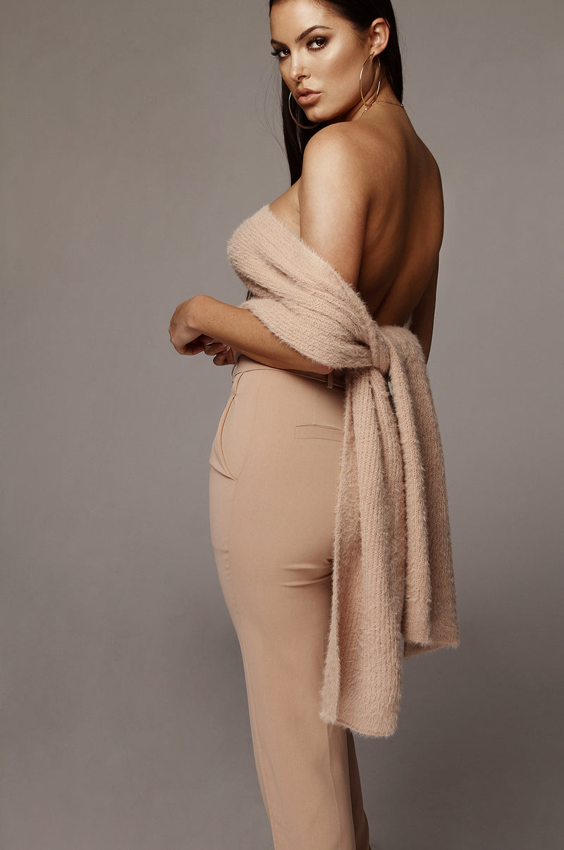 Dusty Pink Soft Blend Scarf