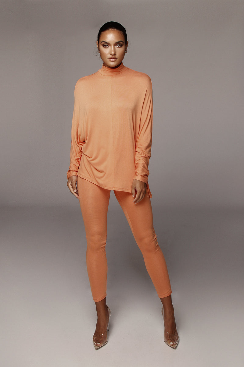 Orange Sherbet Tasha Leggings