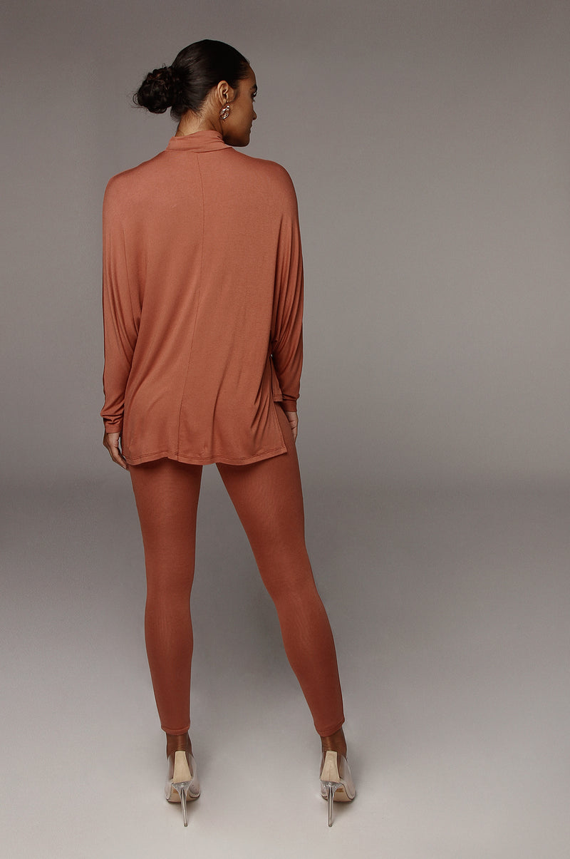 Umber Chrissy Top