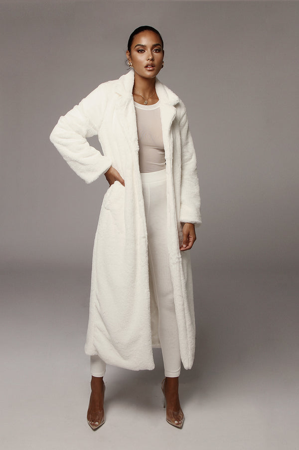 Ivory Oana Soft Long Coat