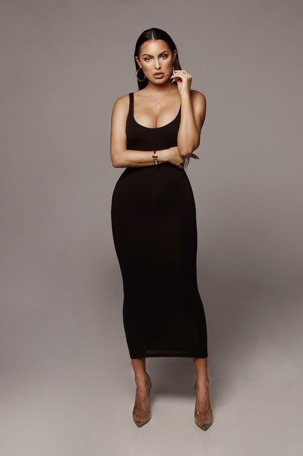 Black  Rachel JLUXBASIX Midi dress