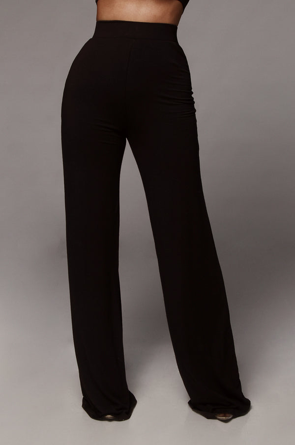 Black Dakota Straight Leg JLUXBASIX Pant