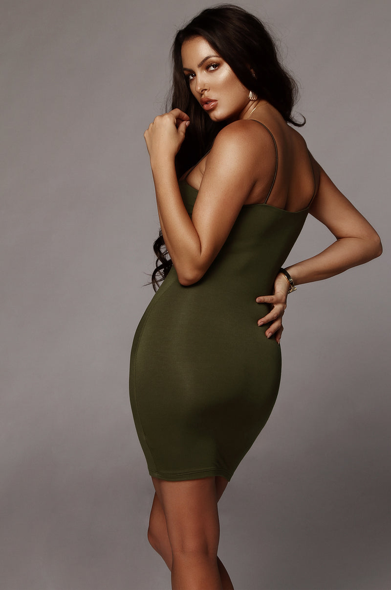 Olive Vivi Mini Dress