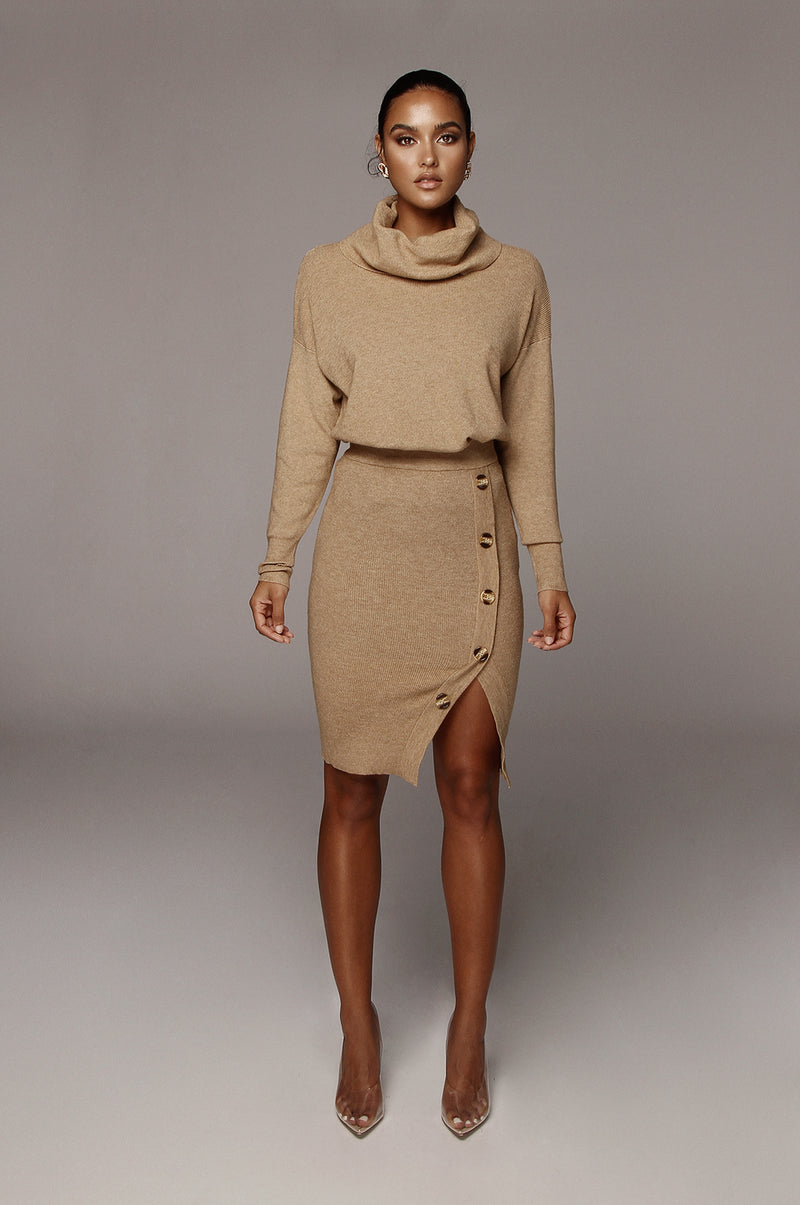 Camel Shae Sweater Set