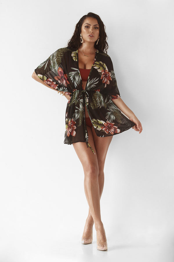 Tropical Riviera Cover Up