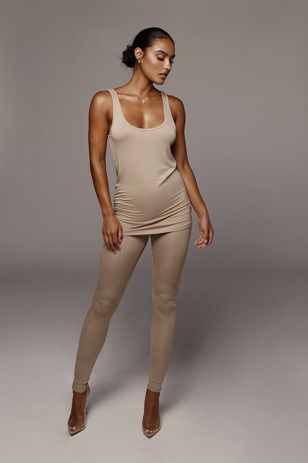 Tan Tasha Leggings
