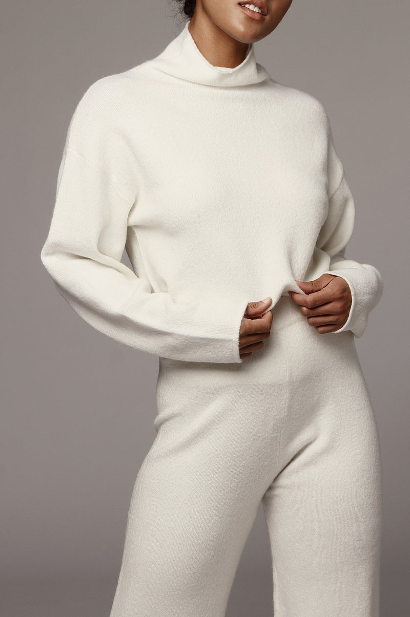 Ivory Melida Sweater Top