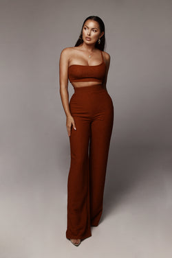Rust Madalena Lurex Set