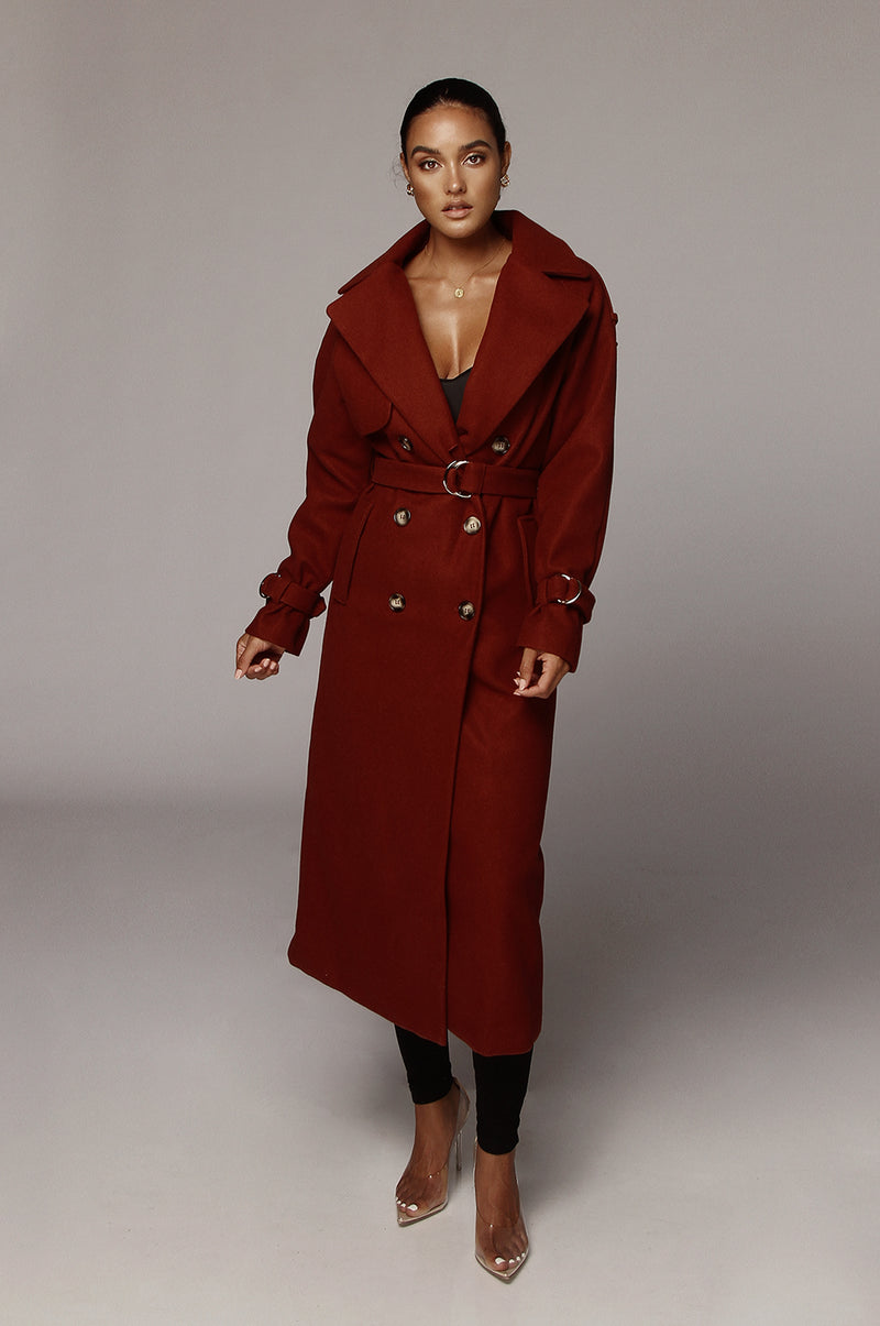 Bossa Nova Beverly Trench Coat