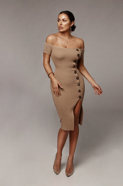 Mocha Kimberly Dress