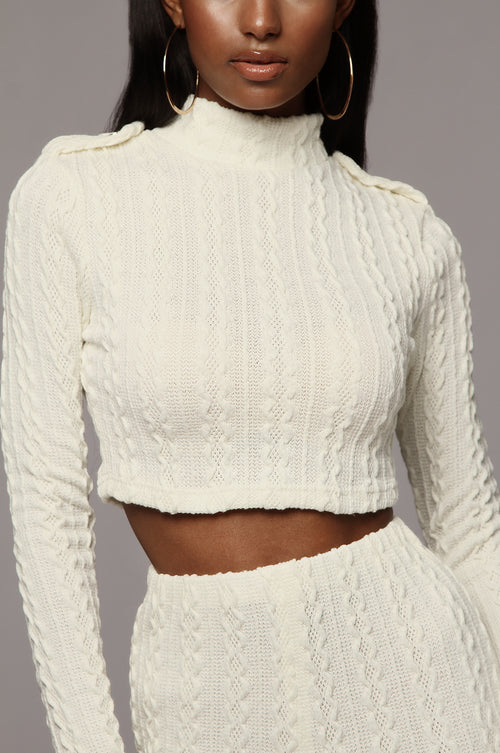 Ivory Haven Sweater Set