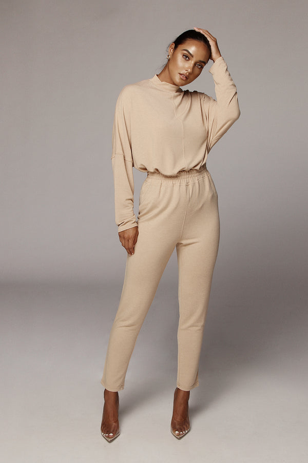 Beige Celeste Oversized Set