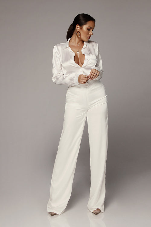 Pearl Perfect Silk Pants