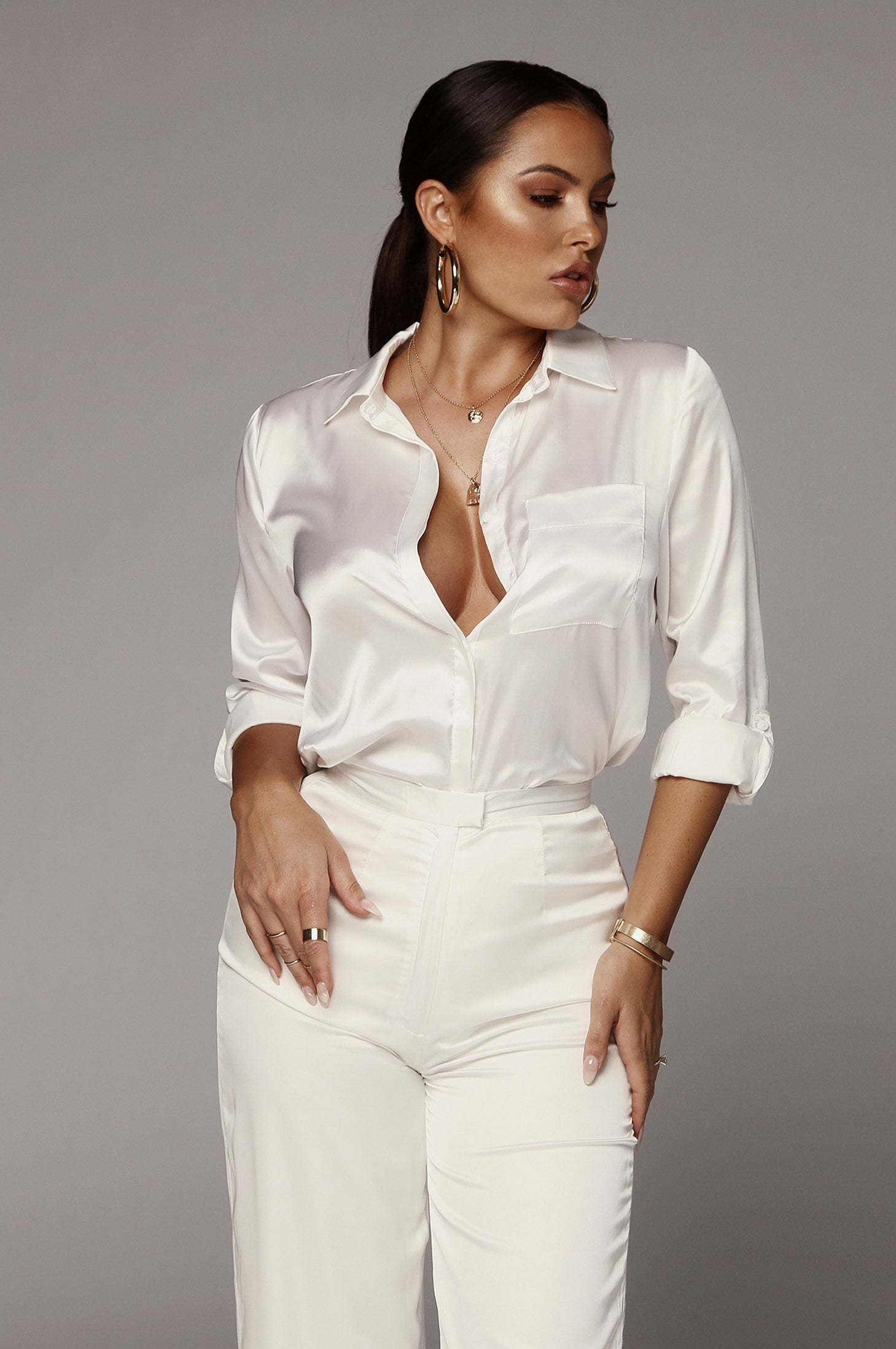 Pearl Perfect Silk Blouse