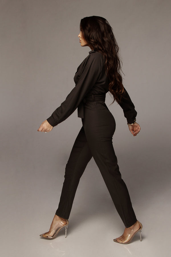 Black Heart & Soul Utility Jumpsuit
