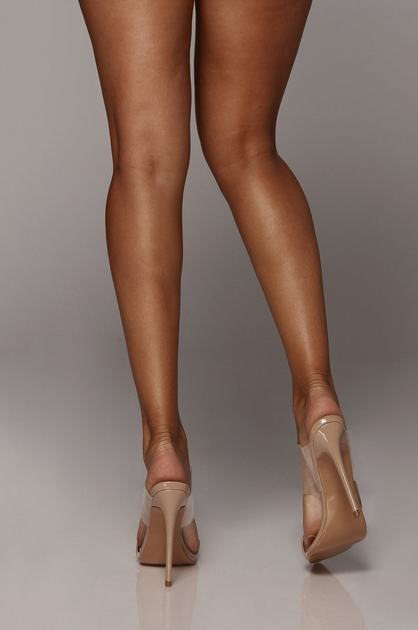 Tan Dream On Pointed Toe Heel