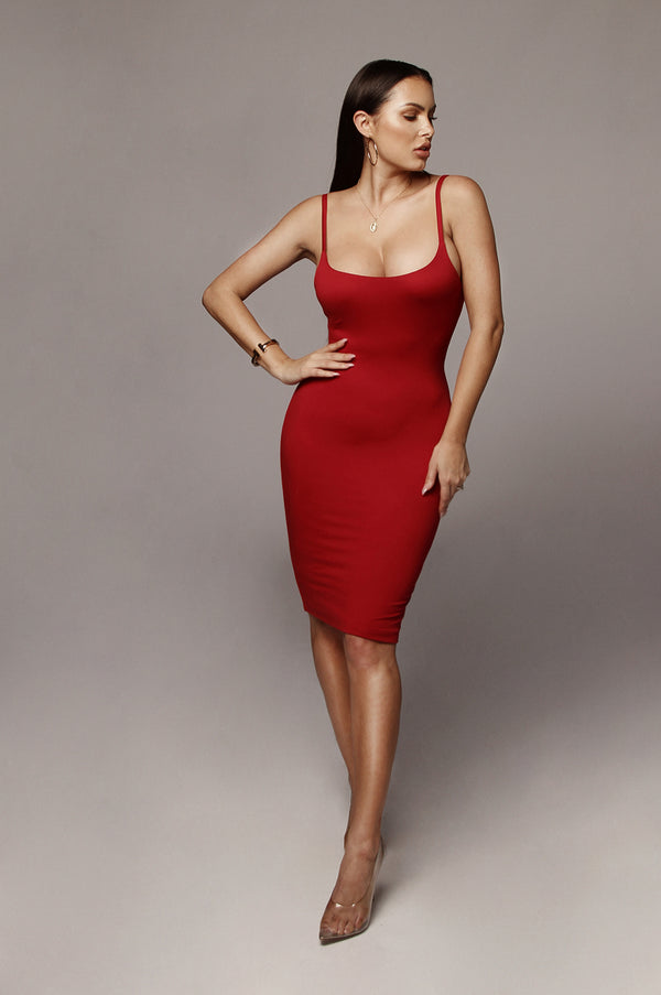 Red Saidey JLUXBASIX Dress