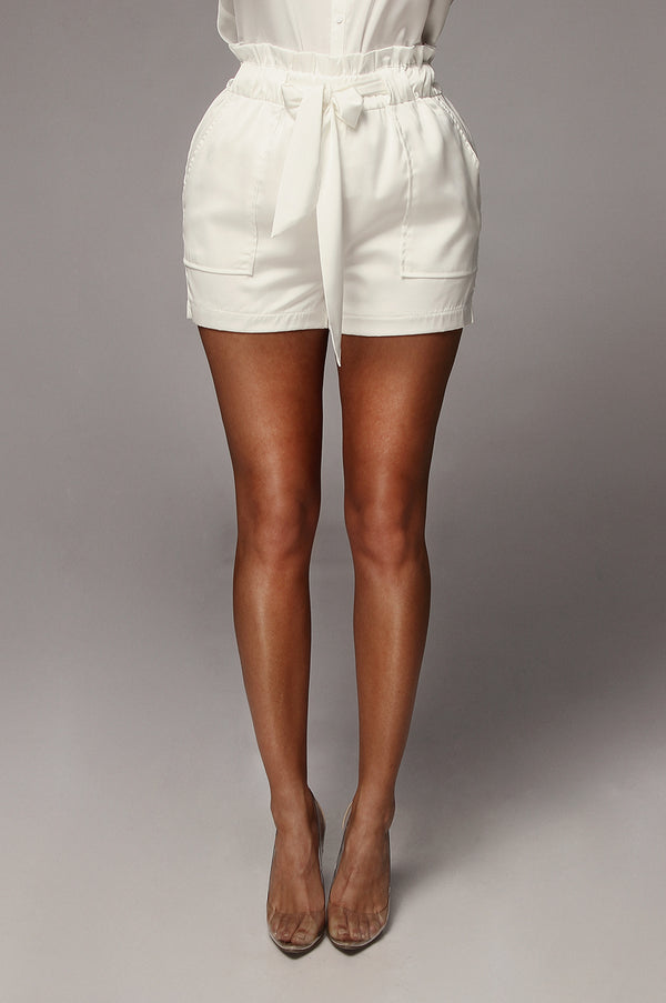 Pearl Emilee Satin Shorts