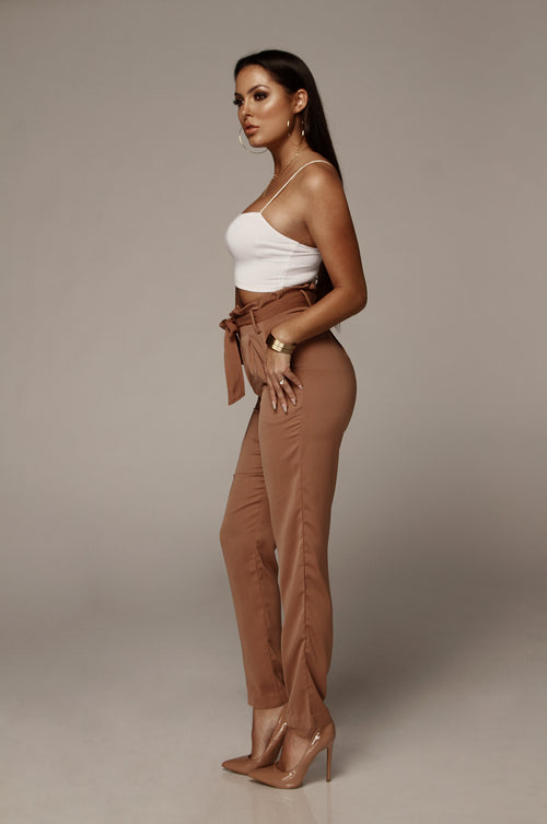 Brown Sugar Brielle Tulip Trousers
