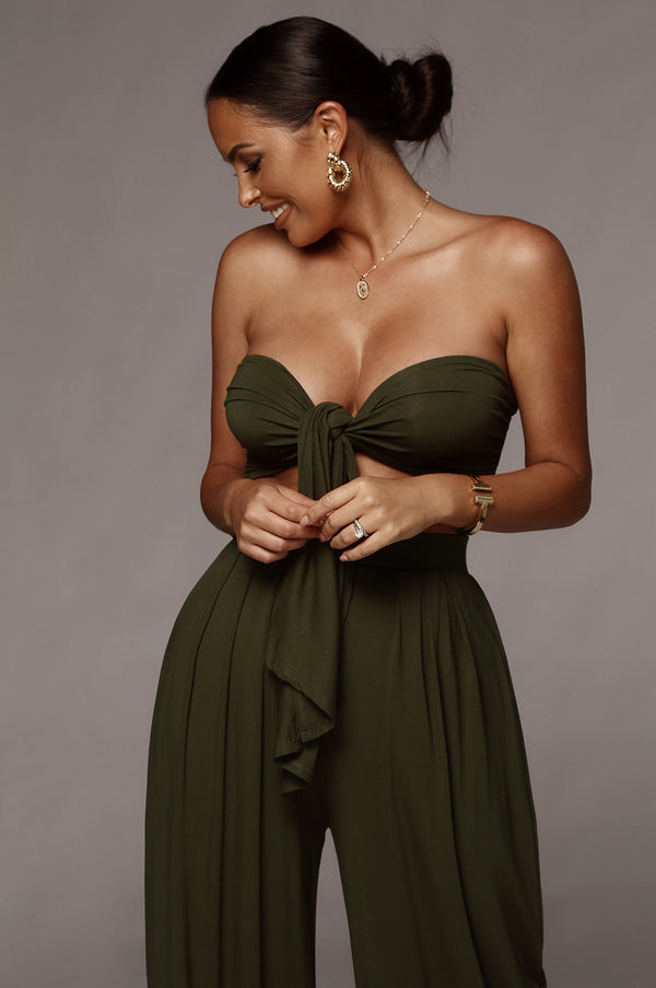 Olive Tory Two Piece Set