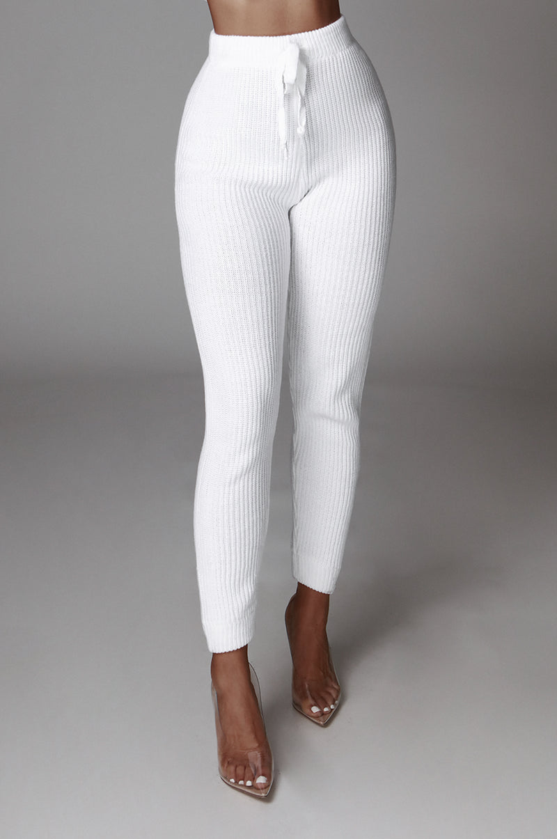 Ivory Roads Knit Joggers