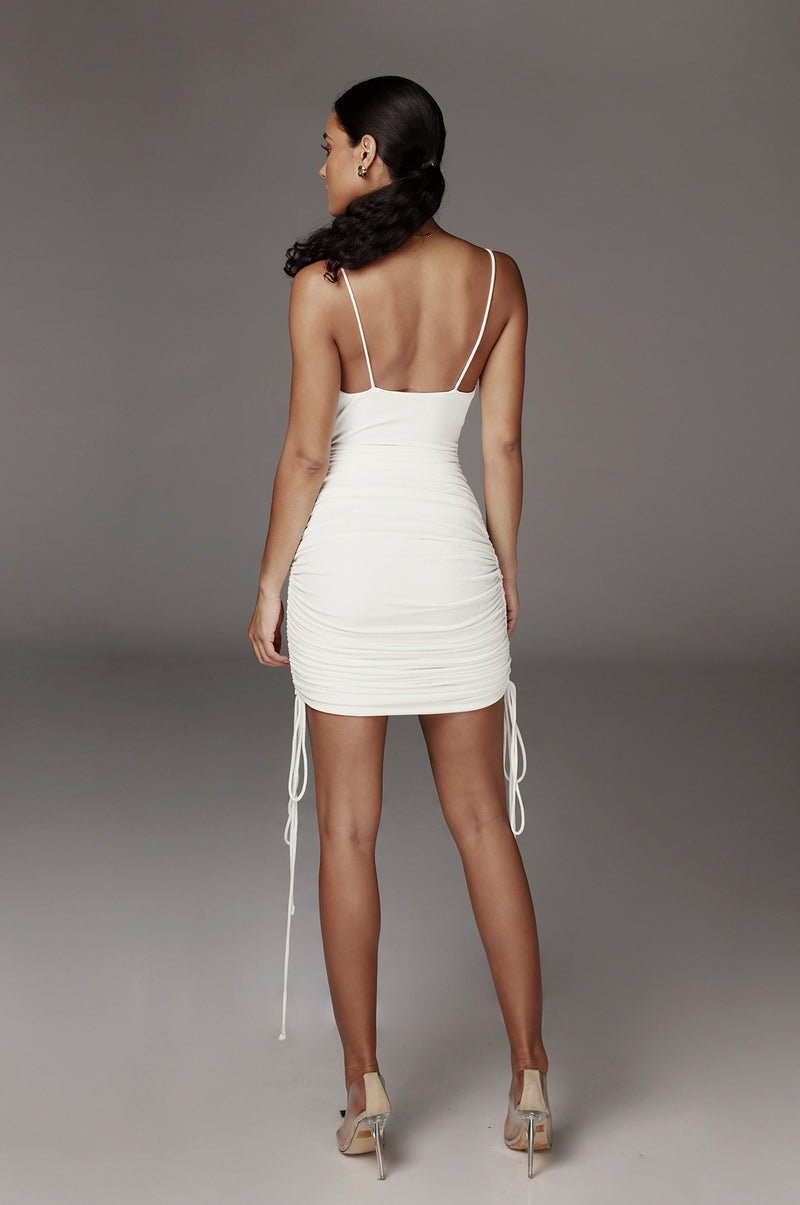 Ivory Wojek Slinky Dress