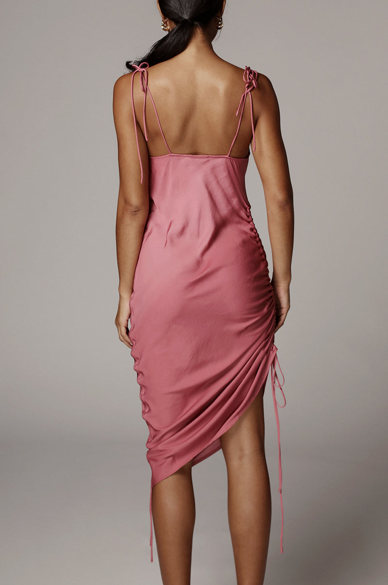 Smokey Rose Pheobe Slip Dress