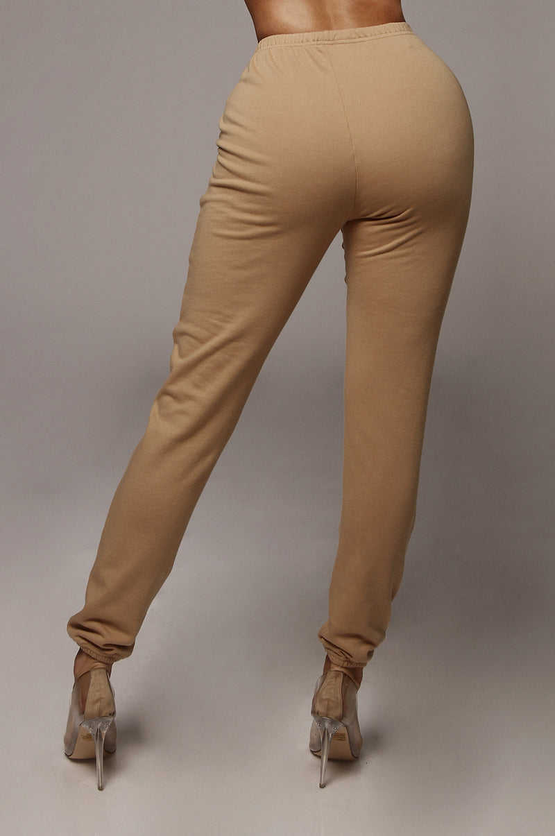 Tan Conna Joggers Sweatpants