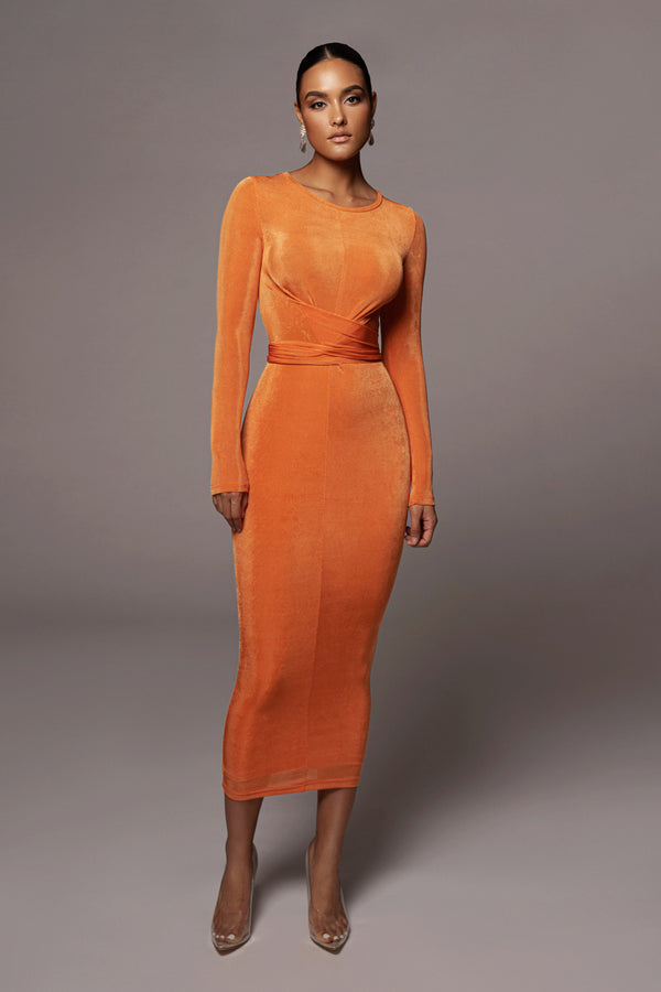 Sunset Vida Front Tie Dress